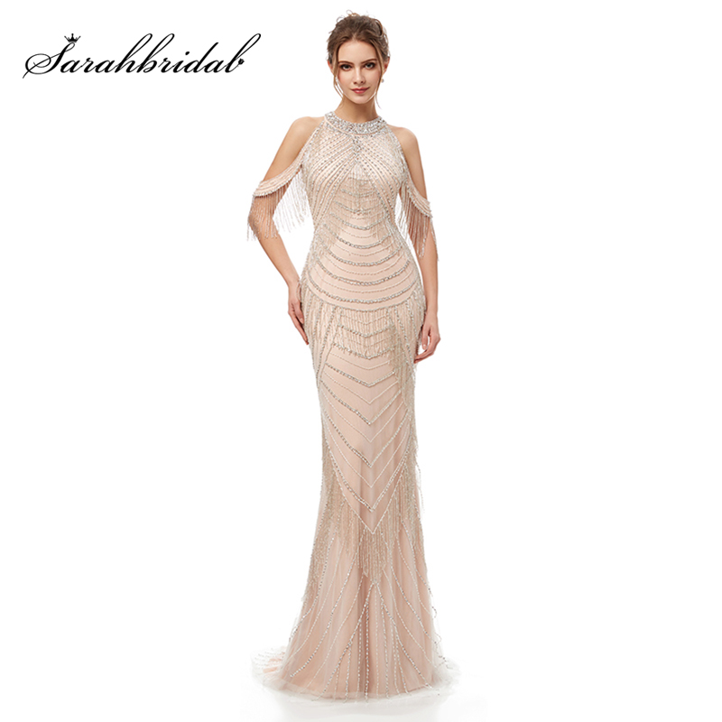 Wedding Party Dress Charming Sequin Mermaid Long Bridesmaid Dresses Garden Wedding Party Gowns New Formal Junior Women Ladies Tulle Dress L5256 Weddings & Events