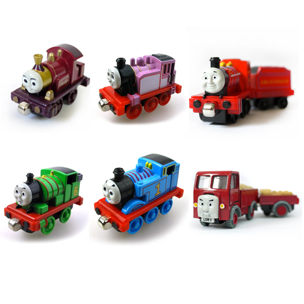 ≧6 unids Thomas y amigo dama Rosie Percy Mike camión aleación ...