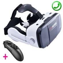 Z5 3D VR BOÎTE PATRON Jeu Vidéo Film Lunettes de Réalité Virtuelle Google Carton Casque Haut-Parleur Bouton Pour 4.0-6.3 «PK Bobovr Z4
