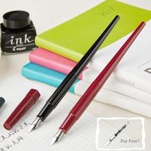 Elegant Long Pilot Desk Fountain Pen Student EF Nib 0.38mm Medium Nib Ink Pens for Writing Calligraphy Nice Pen Stationery DPP70