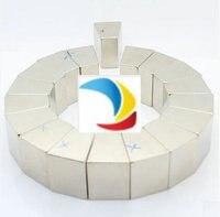 N42M NdFeB Segment D'arc OD130xID75x20deg. x27 mm Moto aimant pour générateurs éolienne Néodyme Permanent Aimant Du Rotor