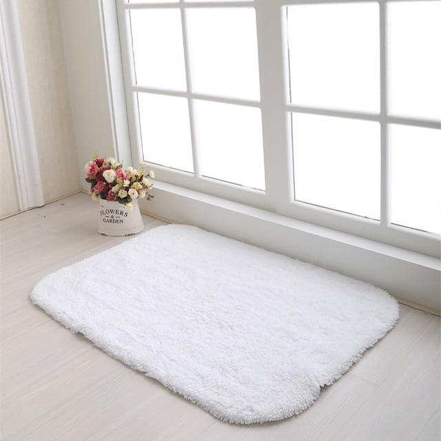 bedroom door mats white Cotton chenille door mat entrance 500MMx800MM  sc 1 st  AliExpress.com & bedroom door mats white Cotton chenille door mat entrance ...