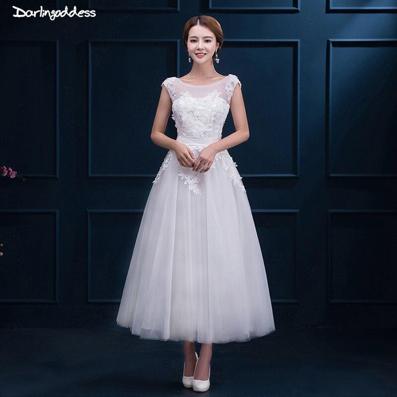 Online Get Cheap Lace Short Wedding Dress Aliexpresscom