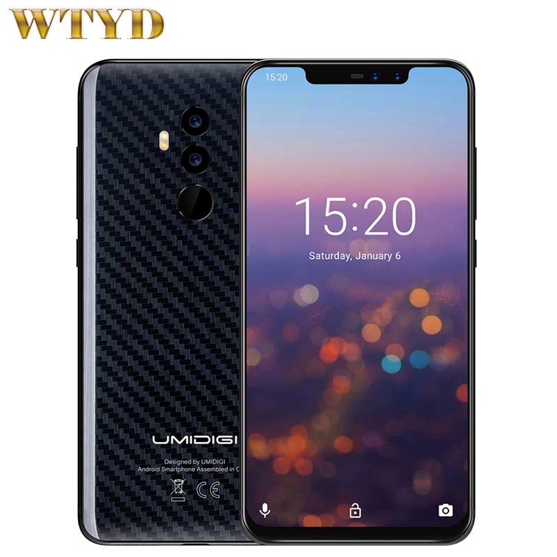 UMIDIGI Z2 Pro Global Version 4G Smartphone Android 8 1 6GB 128GB Helio P60 Octa Core