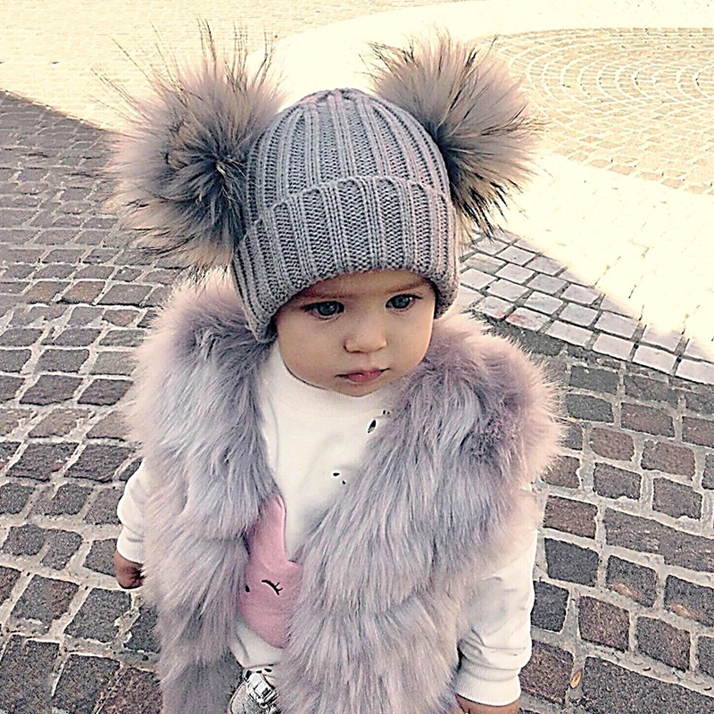 childrens fur vests girls faux fur vest kids candy color Cute Baby Winter Outwear Clothes Warm child vest for girls 6M-10 Years