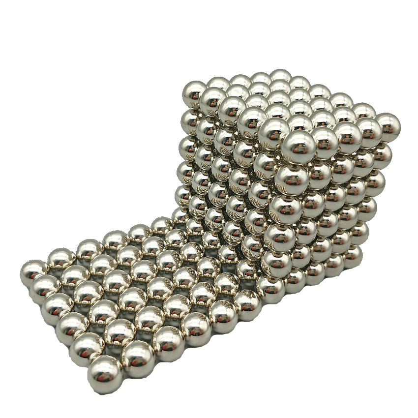 216 pcs NdFeB Magnet Balls 5mm diameter Strong Neodymium Sphere D5 ball Permanent Magnets Rare Earth Magnets with Gift Box Bag 4 7 5mm neodymium nib magnet spheres with steel case silver 216 piece pack