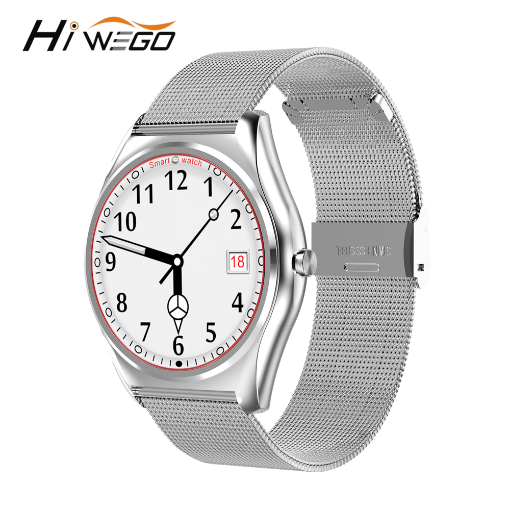 hiwego n3 smart watches with heart rate monitor bluetooth. Black Bedroom Furniture Sets. Home Design Ideas