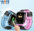 New Smart Phone Watch Children Kid Wristwatch Y21 GSM GPRS GPS Locator Tracker Anti-Lost Smartwatch Child Guard for iOS Android