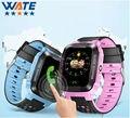 Nuevo Teléfono Inteligente Reloj Niños Kid Reloj Y21 GSM GPRS GPS Localizador Rastreador Anti-perdida Smartwatch Niño Guardia para iOS Android