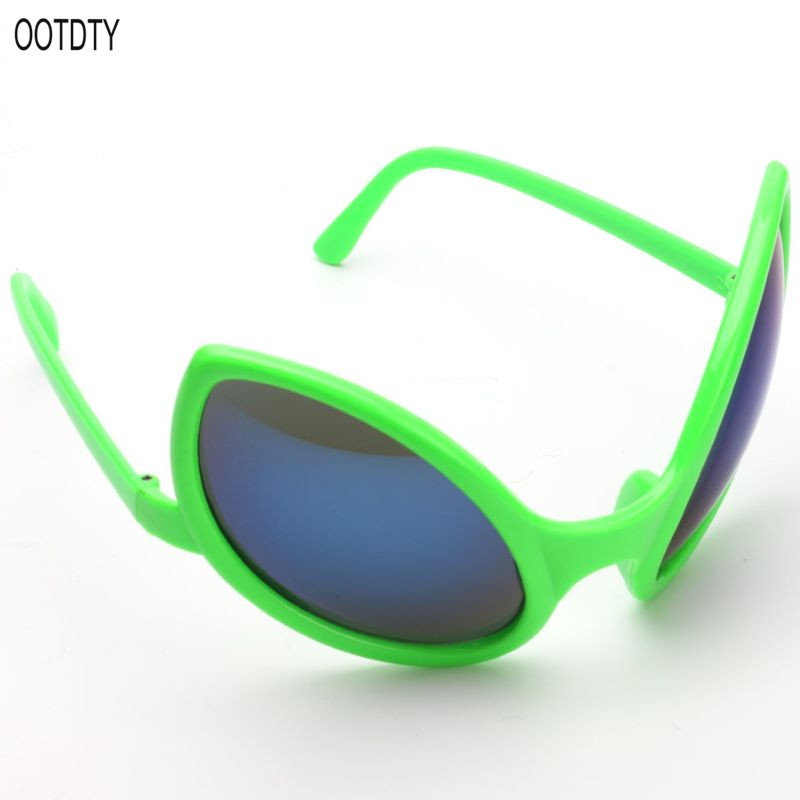 OOTDTY Funny Alien Costume Mask Novelty Beach Sunglasses Halloween Party Favors Photo Props Supplies Kids Adult Toy in Gags Practical Jokes from Toys Hobbies