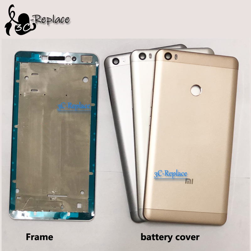 Battery Housing Back-Cover Xiaomi Front-Middle-Frame-Parts for Max-Prime/max-Pro Original