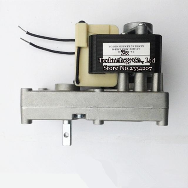 YJF6130-1.5 transformar AC sombreada pólo motoredutores de Partícula/lareira/Caldeira de alimentação do motor 220 V