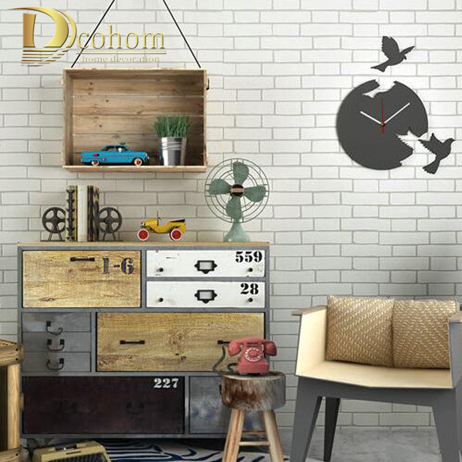 High Quality Classic Vintage Stone Brick Pattern Designs Wall Paper  Embossed Non Woven Wallpaper Home Decor 0.53*10M/Roll R531 In Wallpapers  From Home ...