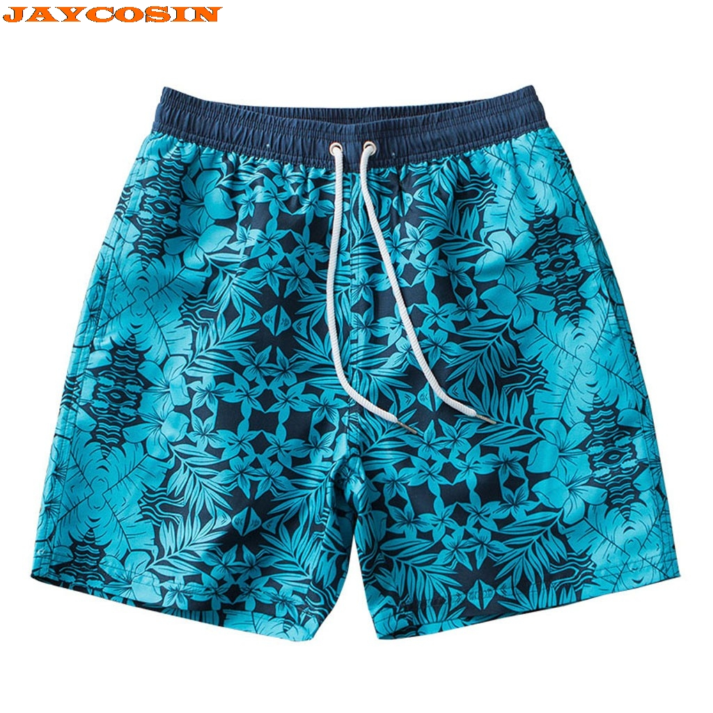 Shop For Cheap Jaycosin High Quality Polyester Men Swim Drawstring Trunks Quick Dry Beach Surfing Running Swimming Print Short Pants Men Casual Board Shorts