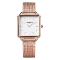 2019 модные женские часы кварцевые квадрат из розового золота часы женские часы из нержавеющей стали наручные часы люксовый известный бренд ...