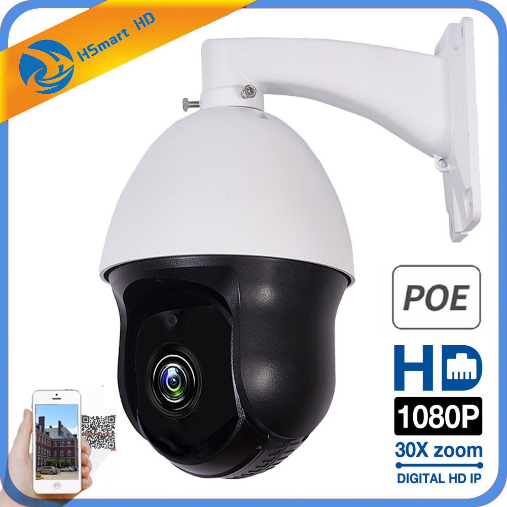 1080P PTZ IP Camera Outdoor Onvif 30X ZOOM Waterproof Mini Speed Dome Camera 2MP H 265