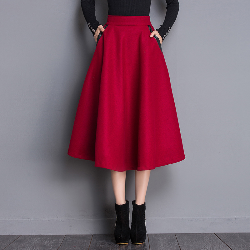 Online Buy Wholesale red flared skirt from China red flared skirt ...