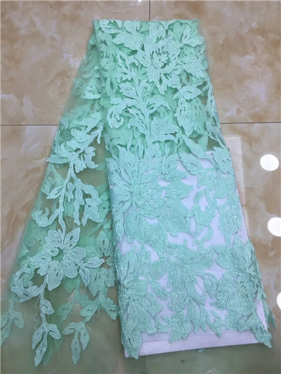 Most Popular African Tulle Lace High Quality Nigerian French Mesh Lace Fabric For Party DressesMost Popular African Tulle Lace High Quality Nigerian French Mesh Lace Fabric For Party Dresses