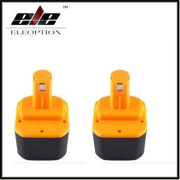 2x Eleoption 12V 2000mah Ni-CD Battery for Ryobi 1400652 1400652B 1400670 B-1230H B-1222H B-1220F2 B-1203F2