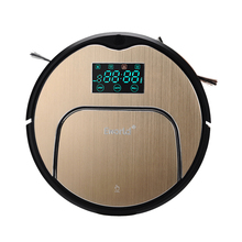 E-World High-end Multifunction Robot Vacuum Cleaner Sweep,Vacuum,Mop,Schedule,SelfCharge most advanced robot vacuum cleaner multifunction sweep vacuum mop sterilize touch screen schedule 2 side brush auto recharging