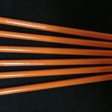 Лучшие Продавцы Китай с рисунком, деревянные карандаши желтый карандаш с логотипом оптом#2 карандаши для кожи