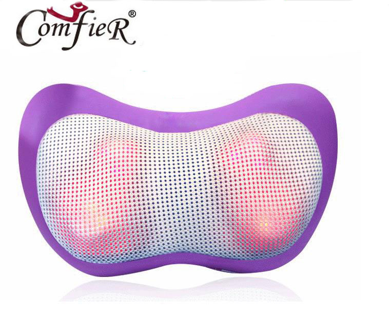 Car home pillows Shoulder massage pillow neck massager multi-function full-body massage cushion for leaning on cassia seed and buckwheat pillows neck pillow massager therapy neck healthcare neck massage tool for sleeping lx70