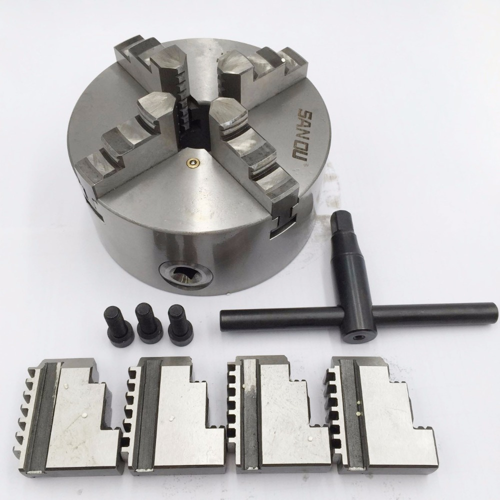 10 Lathe Chuck 4 Jaw Self-Centering K12-250 K12 250mm Four Jaws Chuck Hardened Steel IP65 for CNC Lathe Milling Machine 80mm 4jaw independent lathe chuck k12 80 3 self centering chuck for cnc lathe drilling milling machine