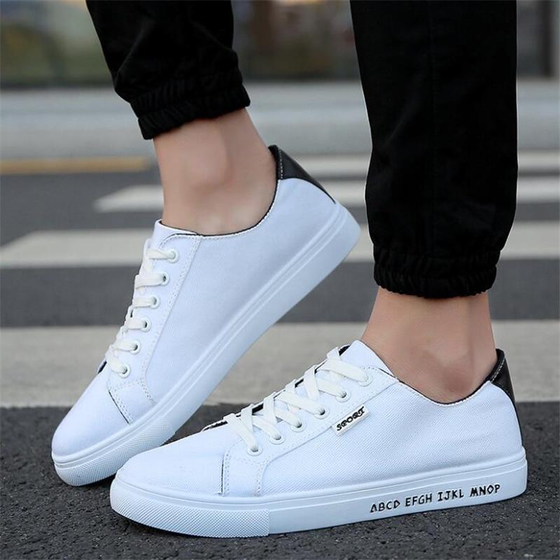 Zapatos Cuero b De Libre A d Nuevos Calzado Aire Caminar Casuales Hombres Moda Hombre Lona 2016 Para c Al Bfwq55g