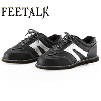 Unisex Bowling Shoes Men Women Skidproof Sole Professional Sports Bowling Shoes Slip Sneakers 006