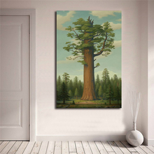 Mark Ryden General Sherman Tree Of Life Wall Art Canvas Posters Prints Painting Pictures For Office Bedroom Home Decor HD