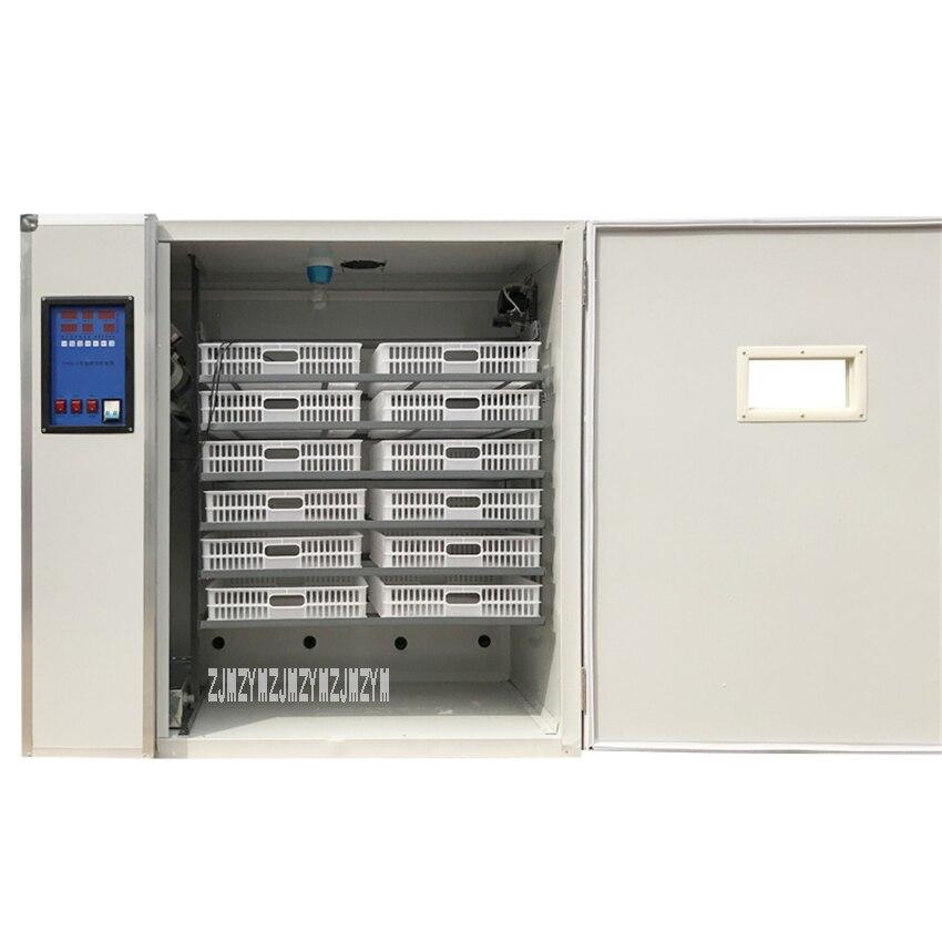 HF108 2112 цифровой инкубатор для яиц полностью автоматический инкубатор курица утка гусь яйца инкубационная машина термостат контроль инкуба...