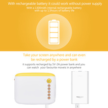 Multi-Function Portable LED Pocket Projector for Home Theater