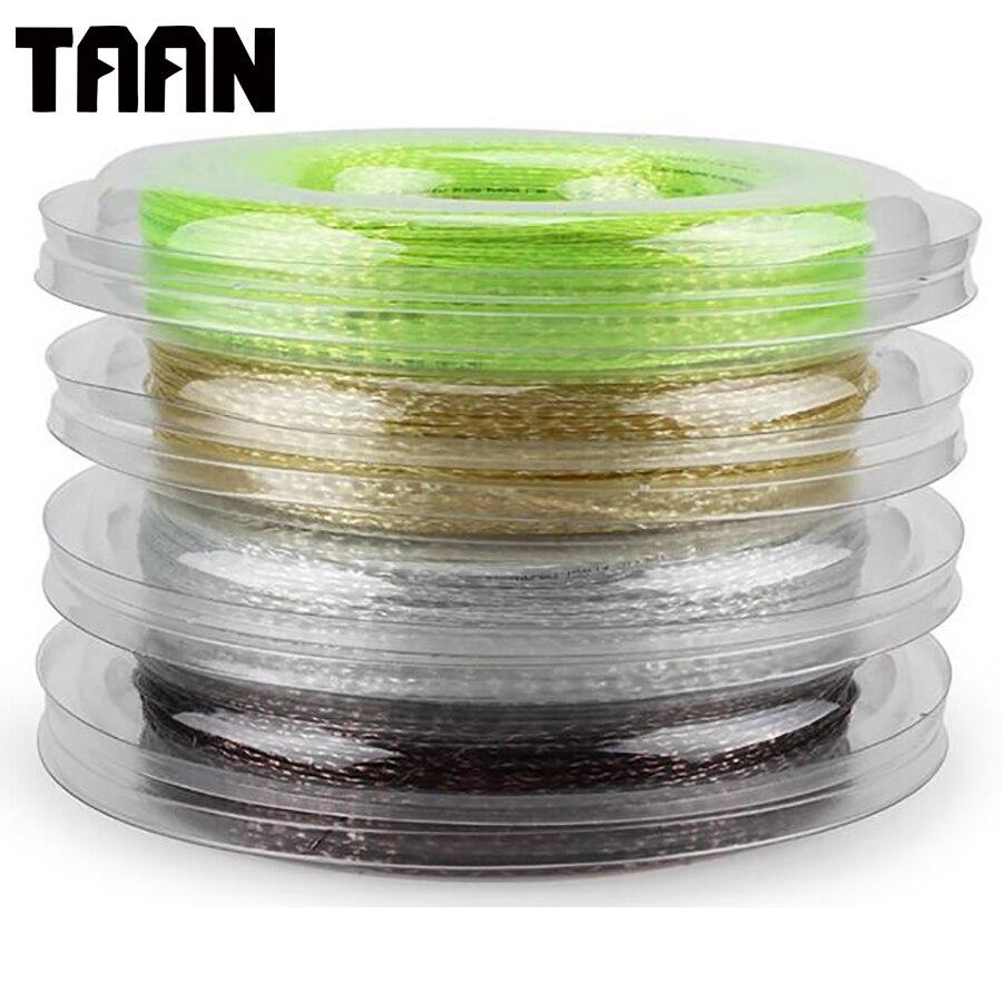 TAAN Synthetic Flash 1.3mm Tennis Racket String 200 Meters Reel Big White Tennis Strings for Durable Training Tennis 5200 стоимость