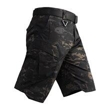 Летние мужские быстросохнущие/Водонепроницаемые тактические шорты для улицы/пеших прогулок, мужские спортивные шорты для трекинга/рыбалки