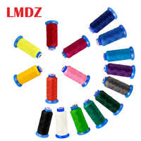 LMDZ 1Pcs 0.5mm Round Waxed Thread 300D Waxed Polyester Thread leather Traditional hand stitching Purse Bags Craft bracelet