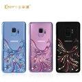 Оригинальный чехол Kingxbar со стразами для Samsung S9  роскошные чехлы из поликарбоната с кристаллами и стразами  чехол для Samsung Galaxy S9 Plus