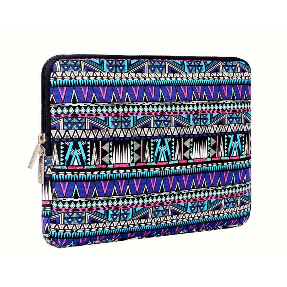 Mosiso Portable Wanita Laptop Case Tas untuk Macbook Air Pro 13.3 DELL Samsung Acer Chromebook 11.6 13.3 15.6