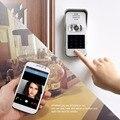 TIVDIO Campainha de Casa Inteligente Wi-Fi Habilitado Vídeo Campainha de Telefone Da Porta de Vídeo Sem Fio Intercom IR Visão Noturna F9502D