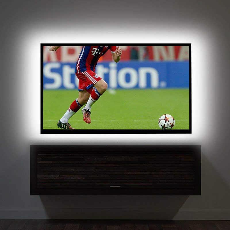 SMD 3528 DC 5 v/6 v USB Power LED strip licht TV Achtergrond Verlichting lamp 50 cm 1 m 2 m 3 m 4 m 5 m Kerst bureau Decor lamp tape