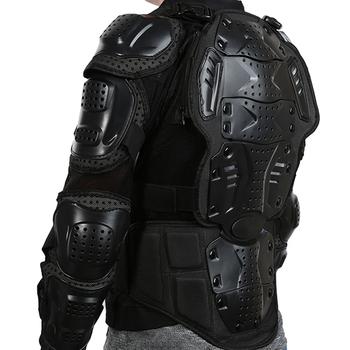 Full Body pancerz motocyklowy kurtka Motocross pancerz przekładnia motocyklowa skrzynia ochronna ramię ręka wspólne ochrona zima S-XXXL tanie i dobre opinie