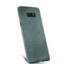 Для Samsung Galaxy S8 Плюс Элитная Природный Ящерица Натуральная Кожа Вернуться Чехол Телефон Обложка для Samsung S8 Бесплатная Доставка