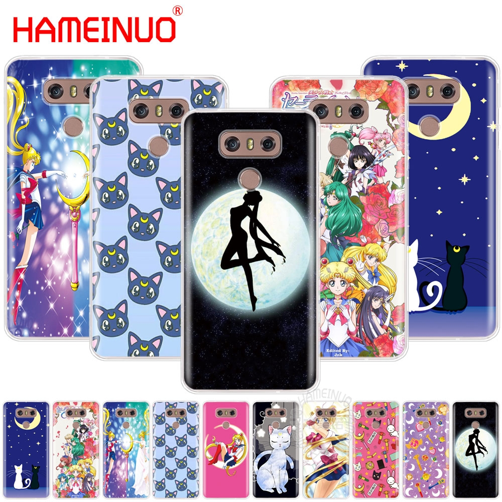 Generous Hameinuo Sailor Moon Girls Case Phone Cover For Lg G6 G5 K10 M250n M250 2017 2016 Cellphones & Telecommunications Phone Bags & Cases
