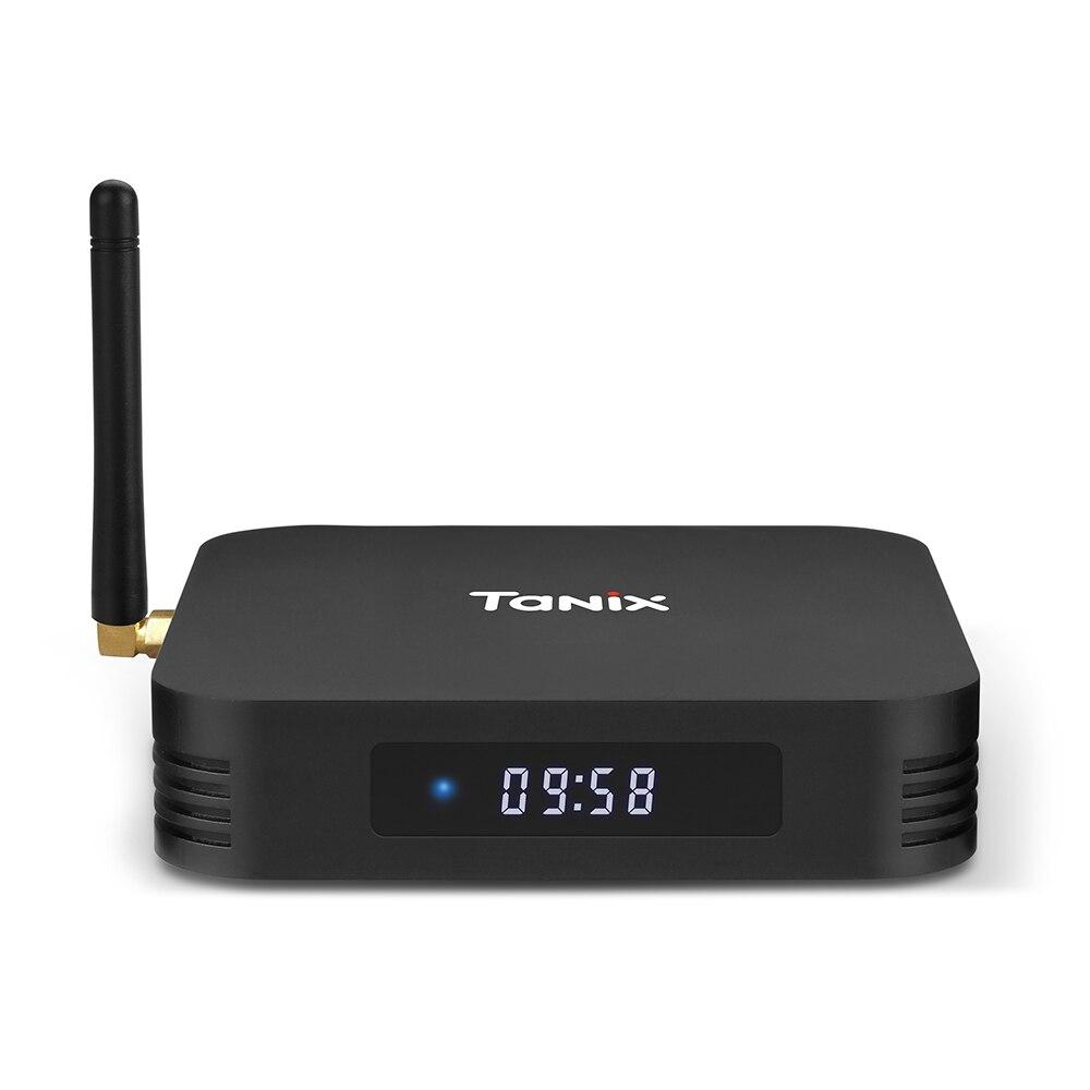 Tanix TX28 TV Box RK3328 Andriod 7.1 TV Box 4GB 32GB 2.4G + 5G WiFi BT4.1 100Mbps USB3.0 Smart Media Player Bluetooth Smart Box