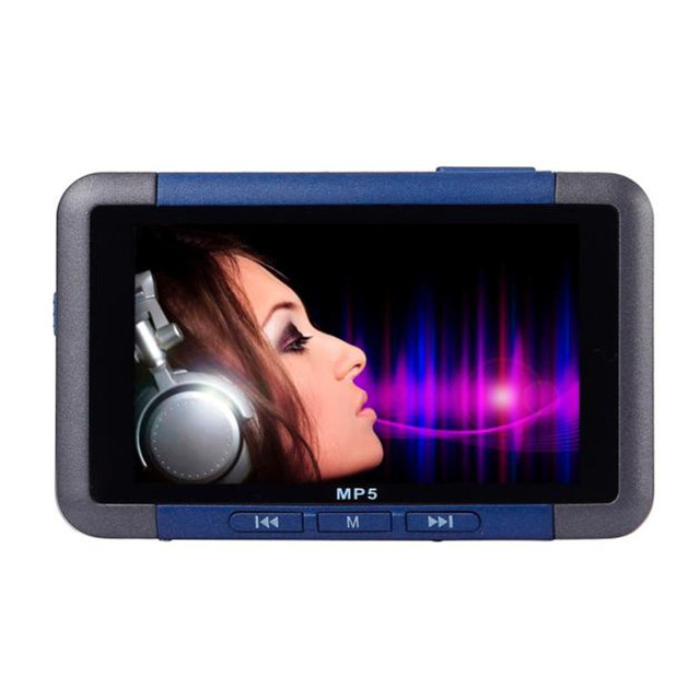 Top Selling! Best Price 8GB Slim MP3 MP4 MP5 Music Player With 4.3 Inch LCD Screen FM Radio Video Movie Jan6
