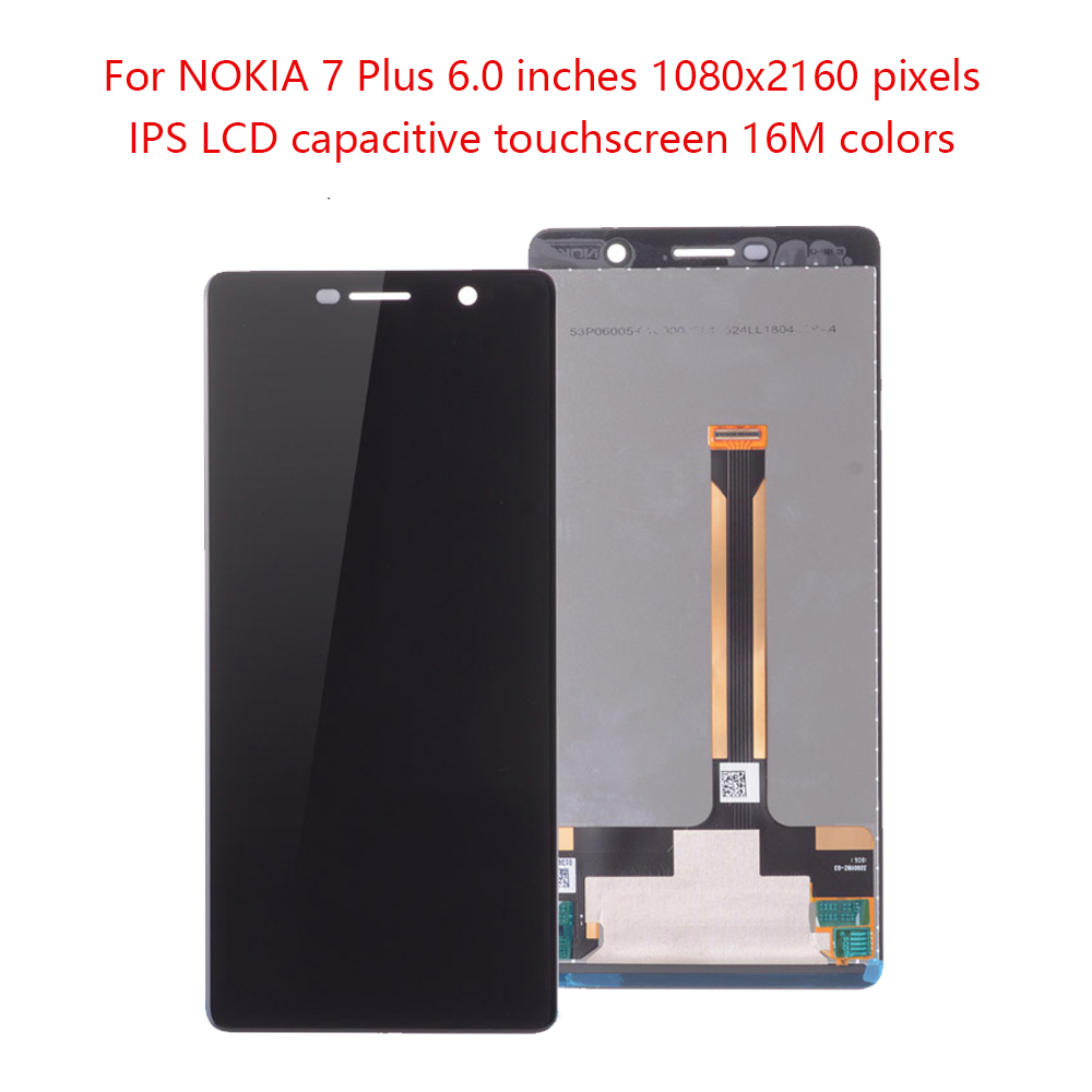Original 6.0 For NOKIA 7 Plus LCD Touch Screen Digitizer Replacment For NOKIA 7 Plus Display For NOKIA E9 Plus LCD TA-1062 LCDOriginal 6.0 For NOKIA 7 Plus LCD Touch Screen Digitizer Replacment For NOKIA 7 Plus Display For NOKIA E9 Plus LCD TA-1062 LCD