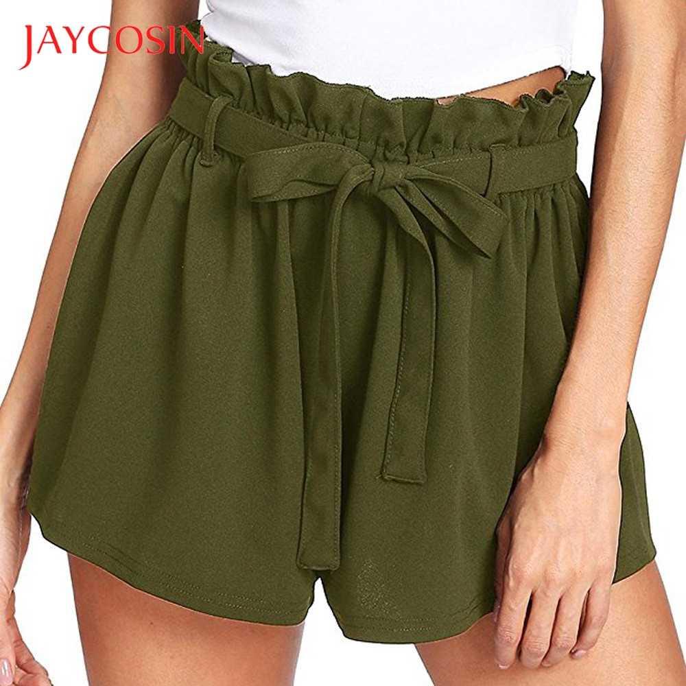 JAYCOSIN повседневные женские шорты с эластичной резинкой на талии, летние шорты, Джерси, прогулочные шорты, модные, сексуальные, модные, отличные Вечерние