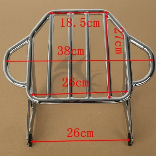 Image 5 - Motorcycle Detachable 2 Up Tour Pak Mounting Luggage Rack For Harley Touring Road King Electra Glide Road Glide 2009 2018-in Carrier Systems from Automobiles & Motorcycles