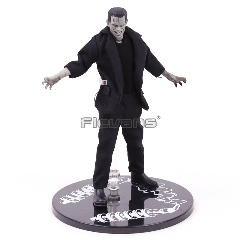 Mezco Toyz One 12 Collective Frankenstein Universal Monsters PVC Action Figure Collectible Model Toy new hot christmas gift 21inch 52cm bearbrick be rbrick fashion toy pvc action figure collectible model toy decoration
