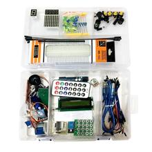 Retail Box UNO R3 KIT for Arduino Starter Kit RFID Learning Suite Stepper Motor + ULN2003 1 set Free Shipping