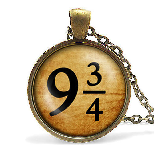 train tickets Deathly Hallows Necklace time turner dr who witch Triangle necklace fashion jewelry chain pendant mens steampunk